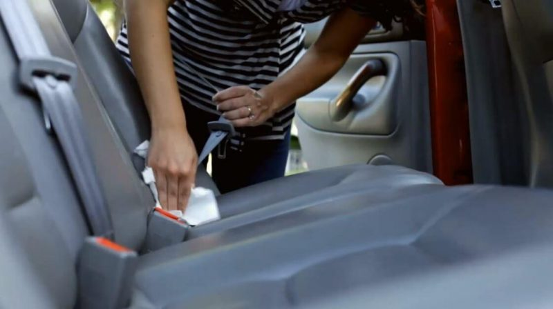 car seat wash and interior cleaning