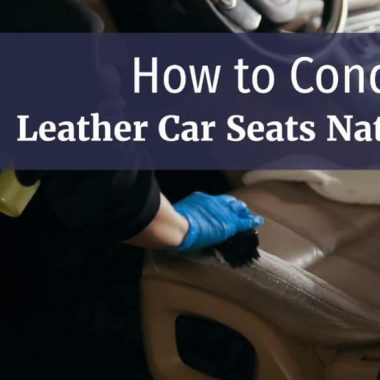 diy leather car seats coditioning