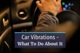 car vibration problem