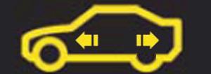 Car temperature warning sign