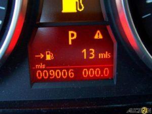 Dynamic stability control dashboard sign