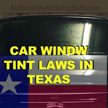 Window tint laws in Texas