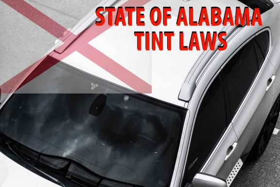 State of Alabama tint law